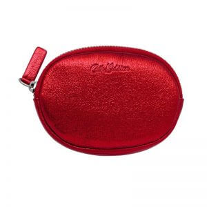 Cath Kidston Oval Coin Purse Red