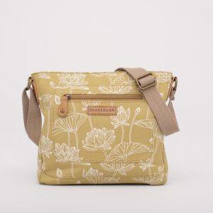 Lotus Cross Body Bag Yellow