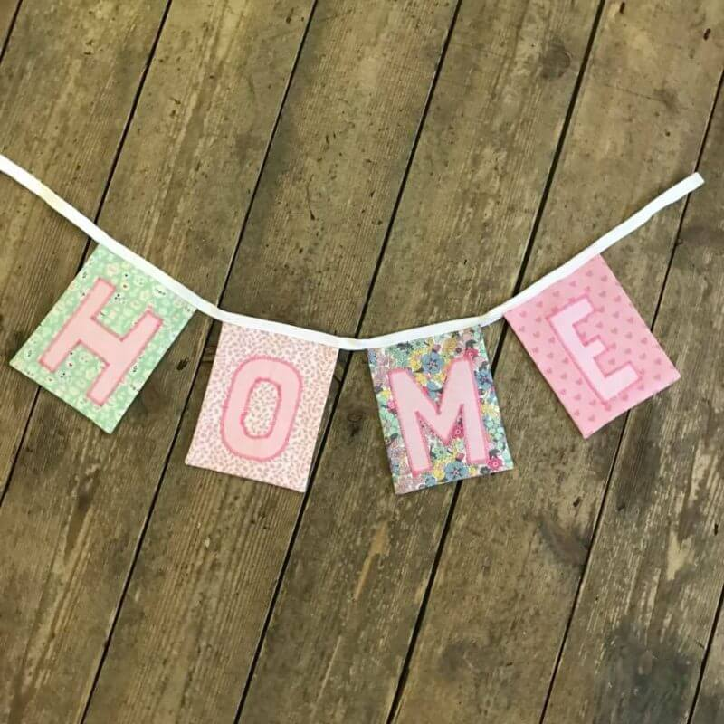 Appliqué Bunting Workshop - Saturday 30th March: 1.30pm-4.30pm