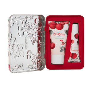 Cath Kidston Mini Cherry Hand and Lip Tin