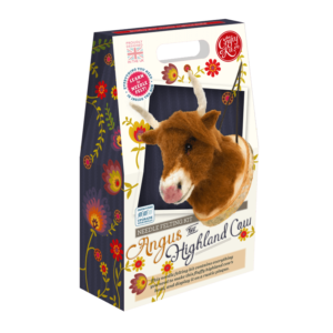 Angus the Highland Cow Needle Felting Kit