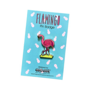 flamingo-enamel-pin-badge
