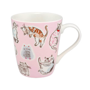 Cath Kidston Squiggle Cats Stanley Mug