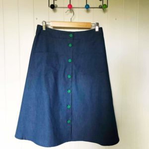 Make a Button Front Skirt Workshop - Sunday 23rd June: 10.30am - 4pm