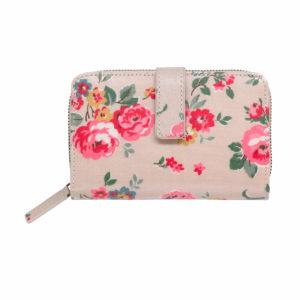 Cath Kidston Wells Rose Folded Zip Wallet