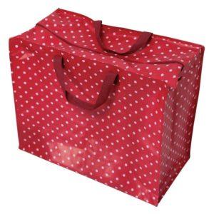 Red Retrospot Jumbo Storage Bag
