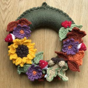 Crochet Autumn Wreath Workshop - Saturday 9th November: 10am - 4pm