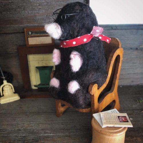 Needle Felted Mole - Saturday 21st September: 10am-4pm
