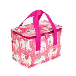 Mandala Elephant Insulated Lunch Bag