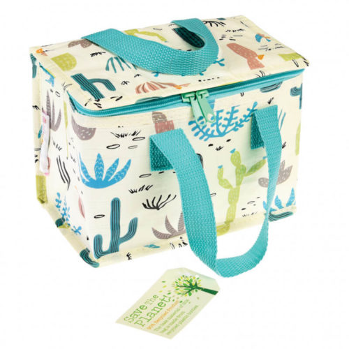 Desert in Bloom Insulated Lunch Bag