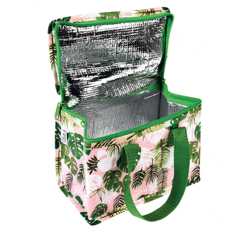 Tropical Palm Insulated Lunch Bag
