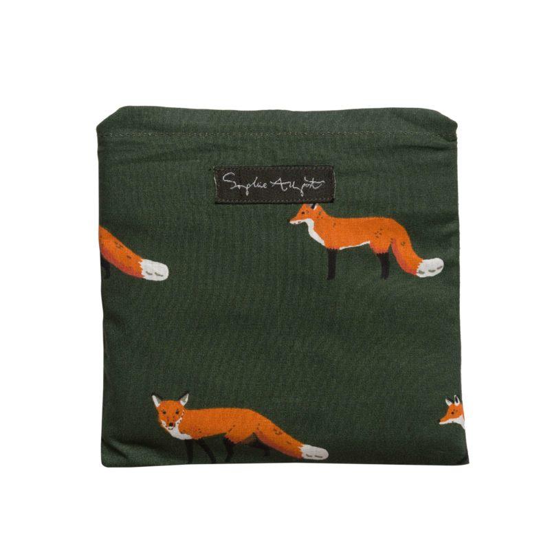 Sophie Allport Foxes Folding Shopping Bag
