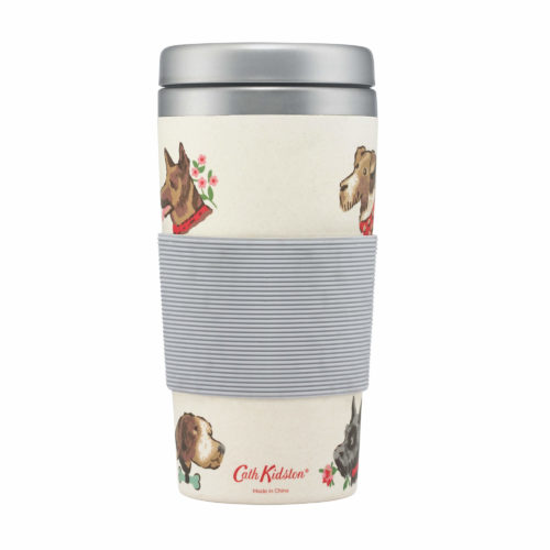 Cath Kidston Dog Portraits Bamboo Travel Cup
