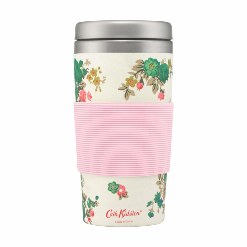 Cath Kidston Washed Roses Bamboo Travel Cup