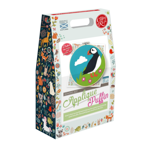 Scottish Puffin Appliqué Kit