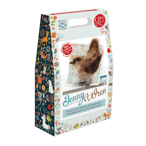 Jenny Wren Needle Felting Kit