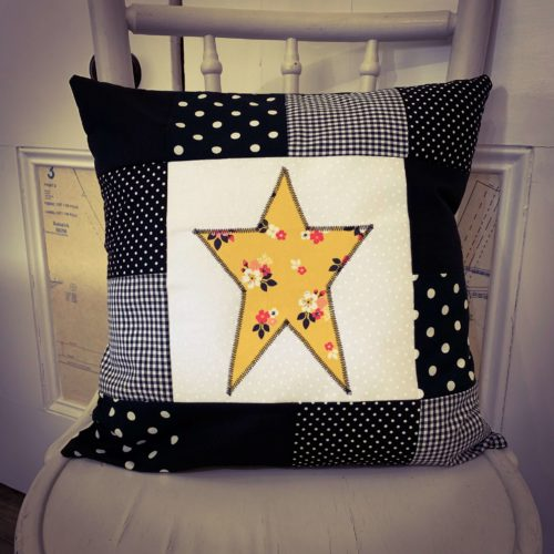 Star Cushion Workshop - Tuesday 8th October: 6pm-9pm