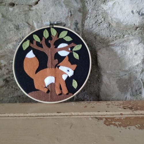 Country Fox Appliqué Kit