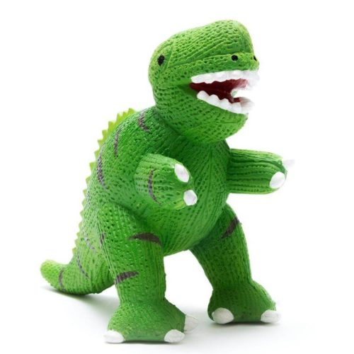 Best Years My First T Rex Natural Rubber Dinosaur Toy
