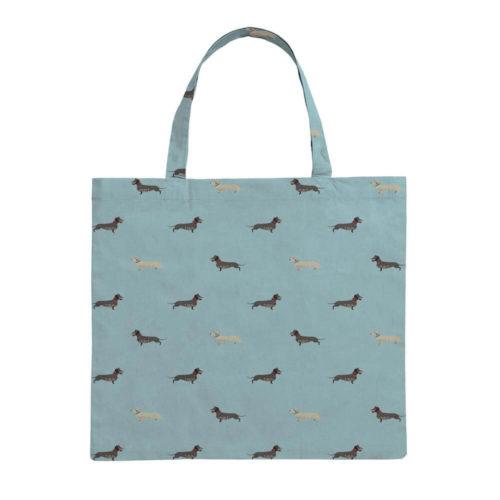 Sophie Allport Dachshund Folding Shopping Bag