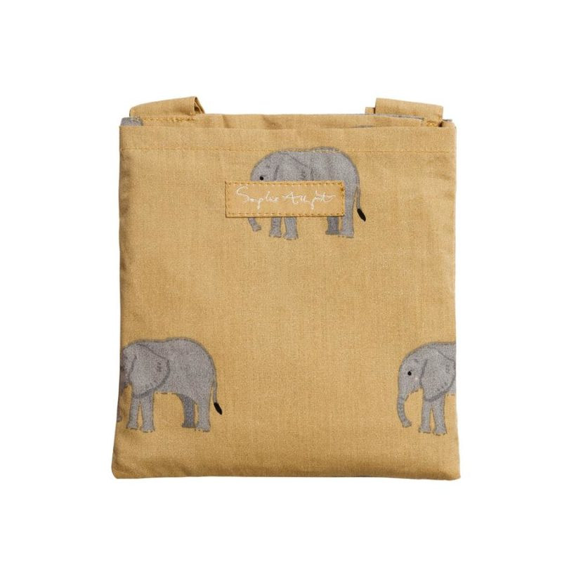 Sophie Allport Elephant Folding Shopping Bag