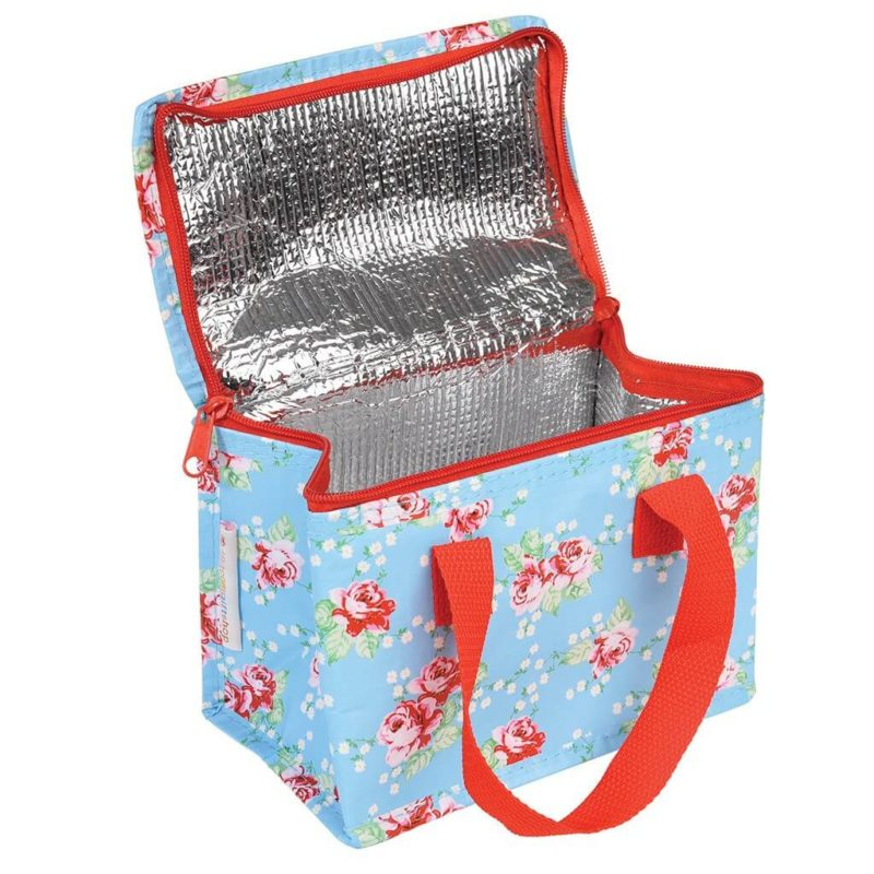 English Rose Insulated Lunch Bag