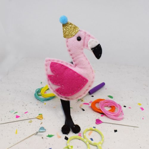 Fernando Flamingo Felt Sewing Kit