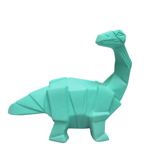 Green Origami Brachiosaurus LED Lamp