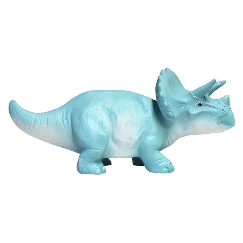 Turquoise Triceratops LED Lamp