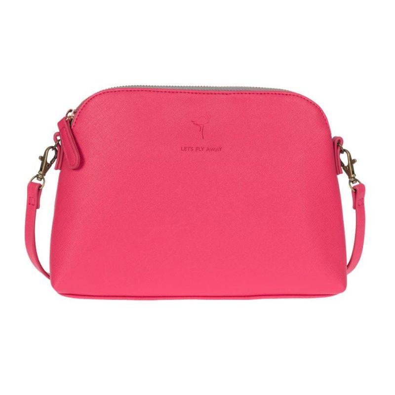 Sophie Allport Flamingos Mini Shoulder Bag