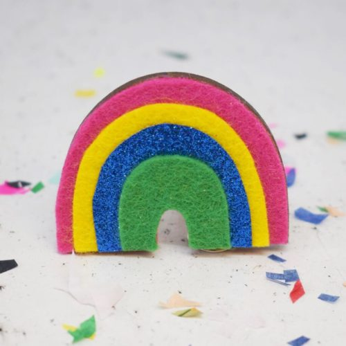 Rainbow'Badge Making Kit