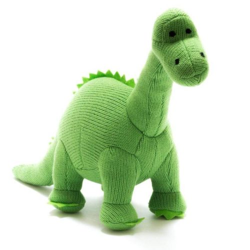 Best Years Knitted Dinosaur Diplodocus Toy