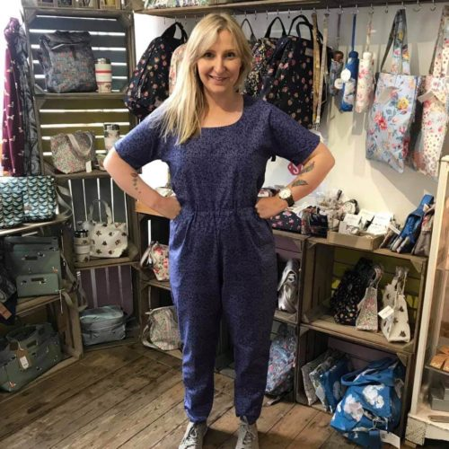 Make a Jumpsuit in a Day Workshop - Saturday 16th November: 9.30am-4.30pm