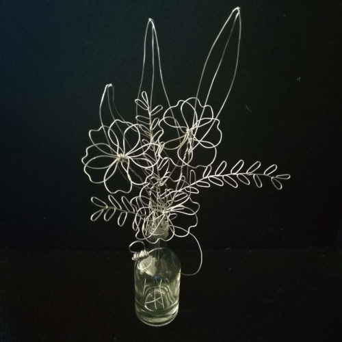 Bee & Flower Wire Sculpture Workshop - Saturday 5th October: 9.30am-11.30am