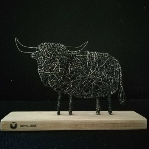 Highland Cow Wire Sculpture Workshop - Saturday 5th October: 12.30pm-4.30pm