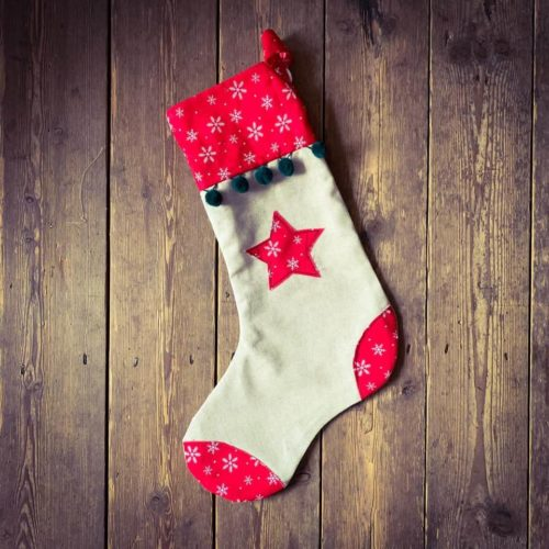 Christmas Stocking Workshop - Tuesday 10th December: 6pm - 9pm