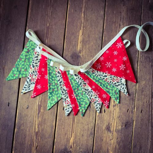 Christmas Bunting Workshop - Thursday 28th November: 6pm - 9pm
