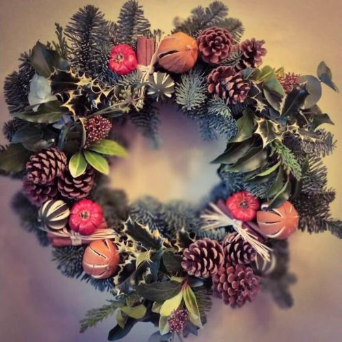 Christmas Wreath Making - Saturday 7th December: 2pm - 5pm