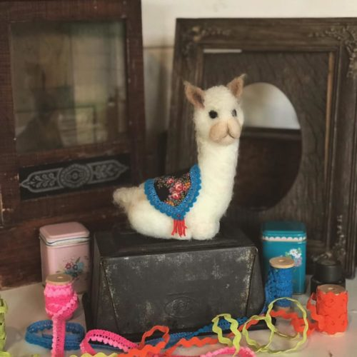 Needle Felted Alpaca - Saturday 23rd November: 10am-4pm