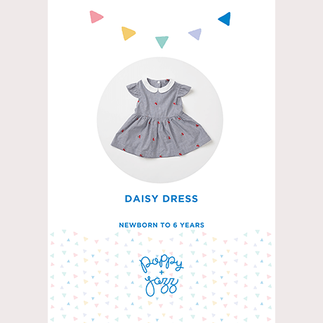 Poppy & Jazz Daisy Dress Sewing Pattern