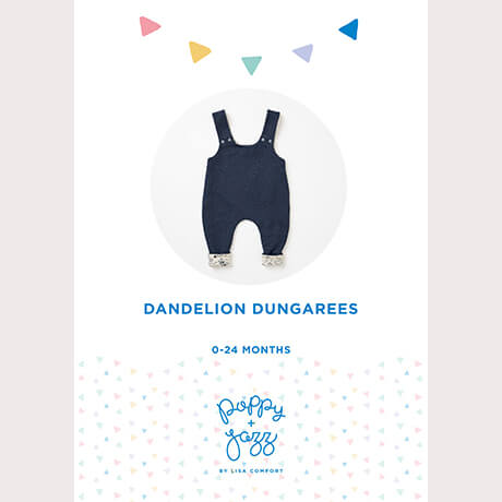Poppy & Jazz Dandelion Dungarees Sewing Pattern