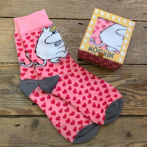 Moomin Socks Hearts