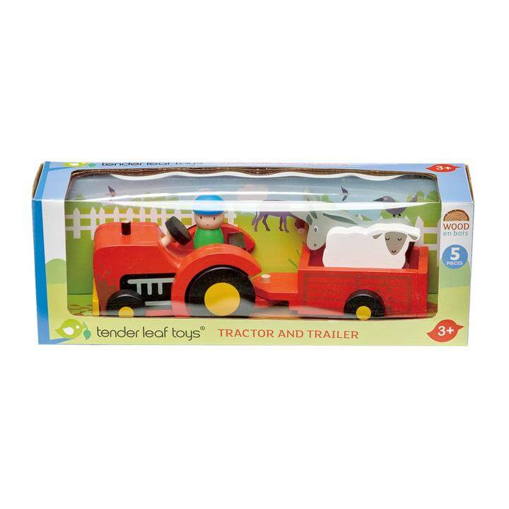 Tender Leaf Tractor and Trailer