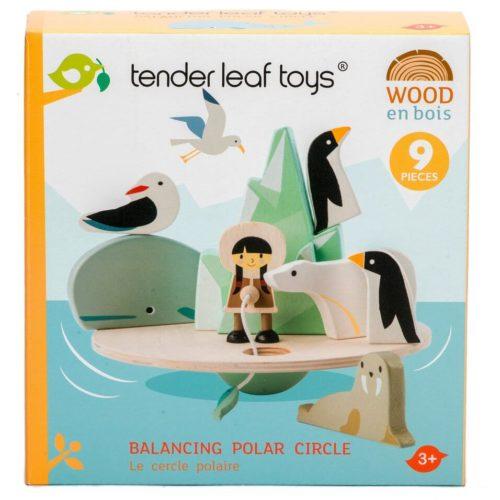 Tender Leaf Balancing Polar Circle Game