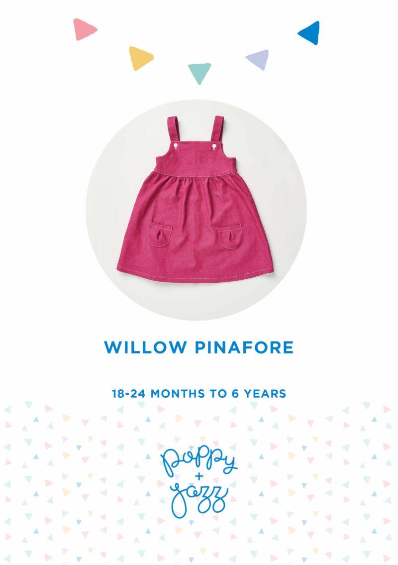 Poppy & Jazz Willow Pinafore Sewing Pattern