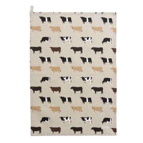 Sophie Allport Cows Tea Towel