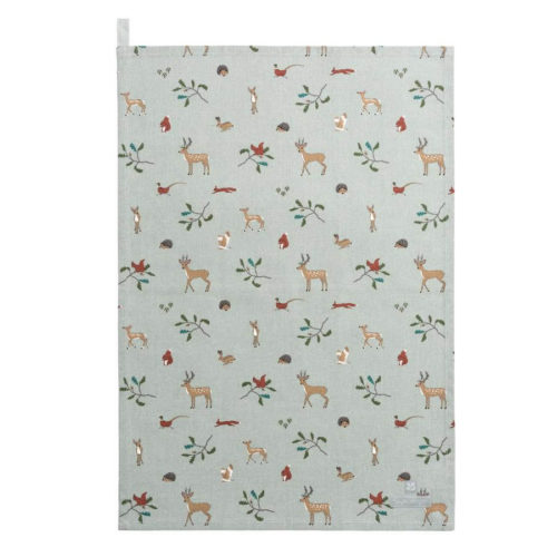 Sophie Allport Woodland Tea Towel