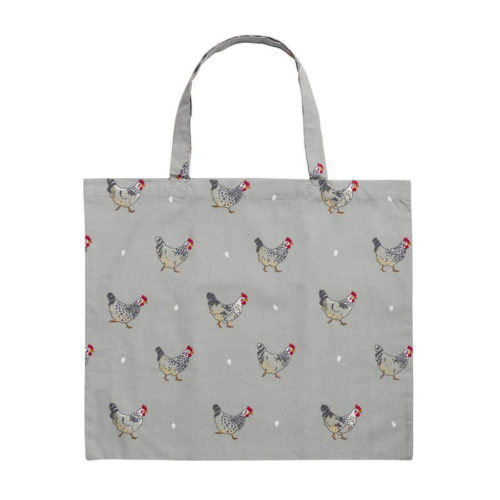 Sophie Allport Chicken Folding Shopping Bag