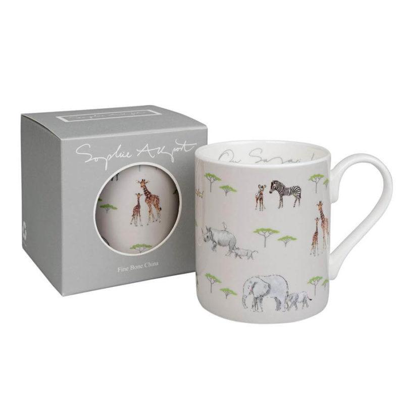 Sophie Allport On Safari Coloured Mug