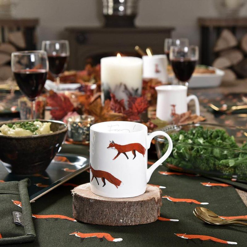 Sophie Allport Foxes Mug